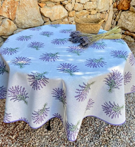Jacquard tablecloth Coated (Begude. raw)